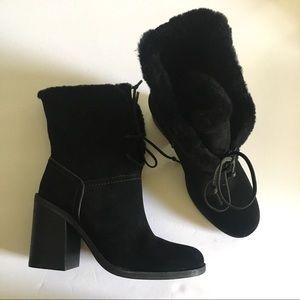 NIB UGG Jerene Black Booties Size 8.5